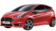 Ford Fiesta / Hatchback / 3 doors / 2008-2012 / Front-left view