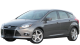 Ford Focus / Hatchback / 5 doors / 2010-2012 / Front-left view