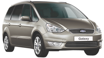 Ford Galaxy / Minivan / 5 doors / 2006-2012 / Front-right view