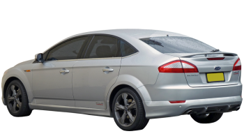 Ford Mondeo / Hatchback / 5 doors / 2007-2012 / Back-left view