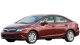 Honda Civic / Sedan / 4 doors / 2006-2011 / Front-left view