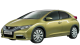 Honda Civic / Hatchback / 5 doors / 2012-2013 / Front-left view