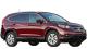 Honda CR-V / SUV & Crossover / 5 doors / 2012-2013 / Front-right view