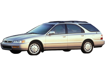 Honda Accord Aerodeck / Wagon / 5 doors / 1991-1994 / Front-left view