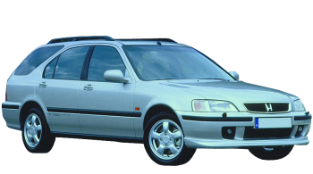 Honda Aerodeck Estate / Wagon / 5 doors / 1995-1998 / Front-right view