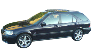 Honda Civic Aero Deck / Wagon / 5 doors / 1998-2001 / Front-left view