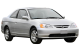 Honda Civic Coupe / Coupe / 2 doors / 2001-2005 / Front-right view