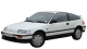 Honda Civic CRX Coupe / Coupe / 3 doors / 1983-1993 / Front-left view