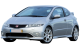Honda Civic Type S / Hatchback / 3 doors / 2007-2011 / Front-left view