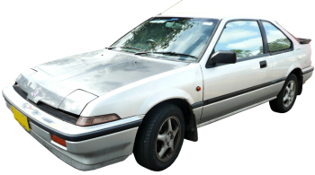Honda Integra / Hatchback / 5 doors / 1986-1989 / Front-left view