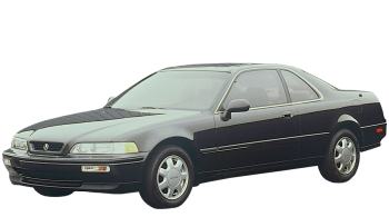 Honda Legend Coupe / Coupe / 2 doors / 1988-1996 / Front-left view