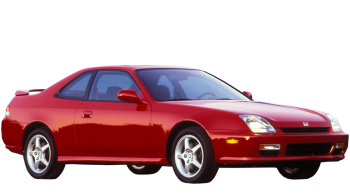 Honda Prelude / Coupe / 2 doors / 1997-2000 / Front-right view
