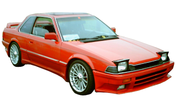 Honda Prelude / Sedan / 2 doors / 1983-1987 / Front-right view