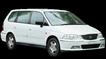 Honda Shuttle / Minivan / 5 doors / 1995-2001 / Front-right view