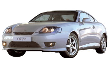 Hyundai Coupe / Coupe / 3 doors / 2005-2009 / Front-left view