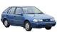 Hyundai Excel / Hatchback / 5 doors / 1989-2000 / Front-right view