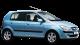 Hyundai Getz / Hatchback / 5 doors / 2002-2008 / Front-right view