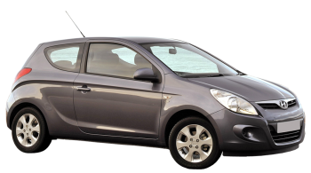 Hyundai i20 / Hatchback / 3 doors / 2008-2013 / Front-right view