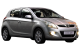 Hyundai i20 / Hatchback / 5 doors / 2008-2013 / Front-right view