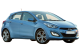 Hyundai i30 / Hatchback / 5 doors / 2007-2013 / Front-right view