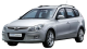 Hyundai i30 CW / Wagon / 5 doors / 2008-2013 / Front-left view