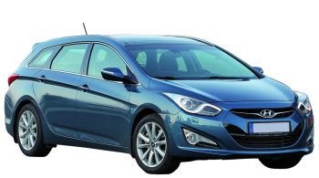 Hyundai i40 Wagon / Wagon / 5 doors / 2011-2013 / Front-right view