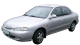 Hyundai Lantra / Sedan / 4 doors / 1991-2000 / Front-left view