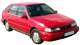 Hyundai Pony / Hatchback / 5 doors / 1985-1994 / Front-right view