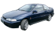 Hyundai Scoupe / Coupe / 2 doors / 1990-1996 / Front-left view