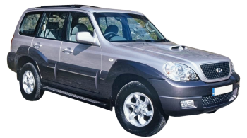 Hyundai Terracan / SUV & Crossover / 5 doors / 2004-2007 / Front-right view