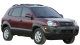 Hyundai Tucson / SUV & Crossover / 5 doors / 2004-2009 / Front-right view