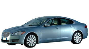 Jaguar XF / Sedan / 4 doors / 2008-2013 / Front-left view