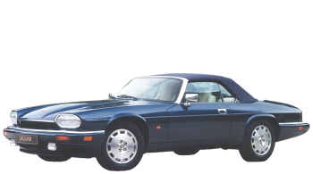 Jaguar XJS Convertible / Convertible / 2 doors / 1988-1996 / Front-left view