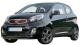 KIA Picanto / Hatchback / 3 doors / 2012-2013 / Front-left view