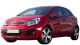 KIA Rio / Hatchback / 5 doors / 2012-2013 / Front-left view