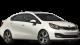 KIA Rio / Sedan / 4 doors / 2012-2013 / Front-right view