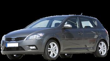 KIA Ceed / Hatchback / 5 doors / 2010-2012 / Front-left view