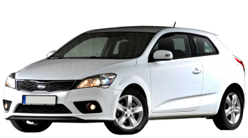 KIA Pro_Ceed / Hatchback / 3 doors / 2011-2013 / Front-left view
