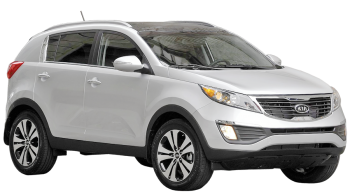 KIA Sportage / SUV & Crossover / 5 doors / 2011-2013 / Front-right view