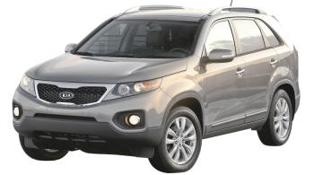 KIA Sorento / SUV & Crossover / 5 doors / 2011-2013 / Front-left view