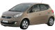 KIA Venga / Hatchback / 5 doors / 2009-2013 / Front-left view