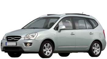 KIA Carens / Minivan / 5 doors / 2007-2011 / Front-left view