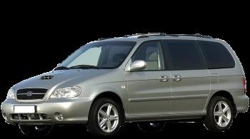 KIA Carnival / Minivan / 5 doors / 2006-2008 / Front-left view