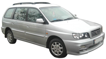 KIA Joice / Minivan / 5 doors / 1999-2003 / Front-right view