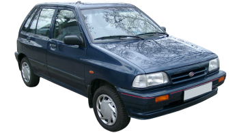 KIA Pride / Hatchback / 5 doors / 1995-2000 / Front-right view