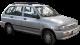 KIA Pride Wagon / Wagon / 5 doors / 1999-2000 / Front-right view