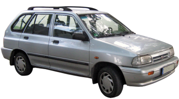 KIA Pride Wagon / Wagon / 5 doors / 1999-2000 / Front-right view