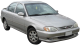 KIA Sephia / Sedan / 4 doors / 1993-2001 / Front-right view