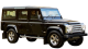 Land Rover Defender 110 / SUV & Crossover / 5 doors / 2008-2013 / Front-right view