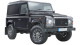 Land Rover Defender 90 / SUV & Crossover / 3 doors / 2008-2013 / Front-right view